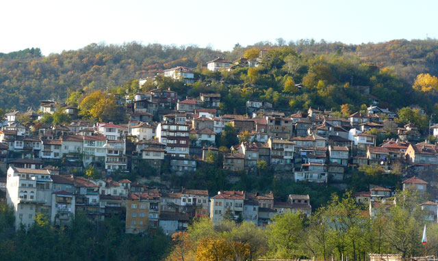 Varusha district Veliko Tarnovo